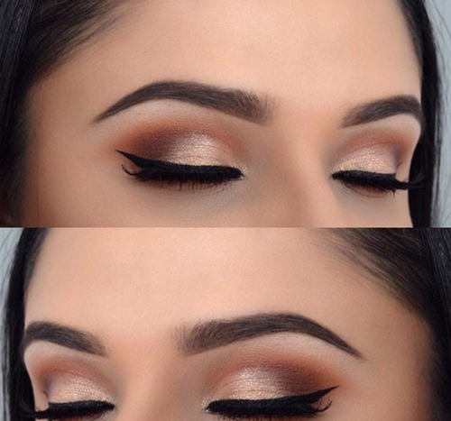 eye shadow and make up image